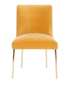 Nolita Velvet Accent Chair, Quick Ship
