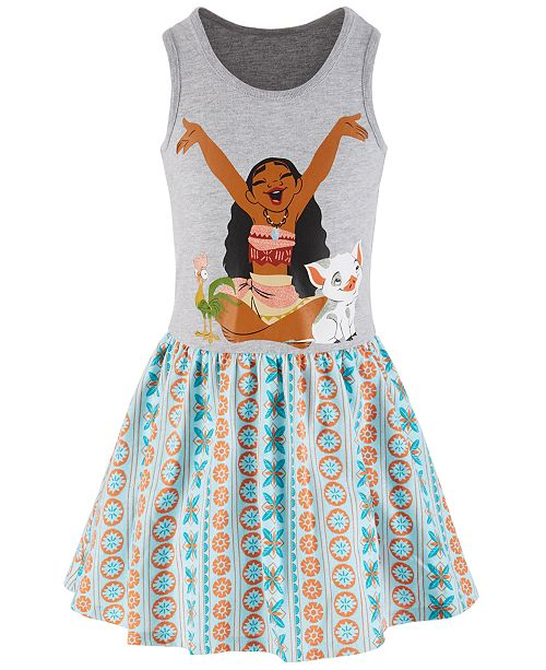 Disney Toddler Girls Moana Printed Tank Dress, Created for Macy's