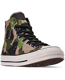 Men's Chuck Taylor 70 High Top Casual Sneakers from Finish Line