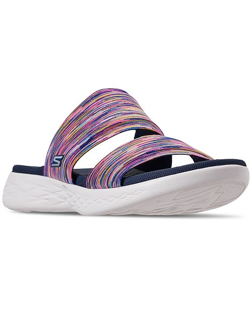 search for official amazing quality casual shoes Women's On The Go 600 - Bedazzling Athletic Sandals from Finish Line