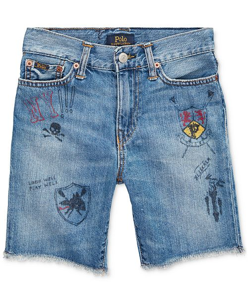 Polo Ralph Lauren Toddler Boys Cotton Denim Shorts