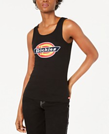 Dickies Cotton Logo Tank Top