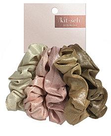 Kitsch Metallic Scrunchies 5 Pack