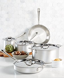 Master Chef 9-Pc. Cookware Set, Created for Macy's