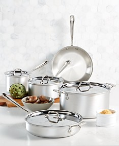 611c0c2fc23f0 All-Clad Master Chef 9-Pc. Cookware Set, Created for Macy's