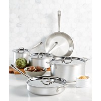 Deals on All-Clad Master Chef 9-Pc. Cookware Set