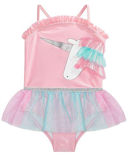 de04521dfbded Solo Toddler Girls Enchanted Unicorn Tutu Swimsuit & Reviews ...