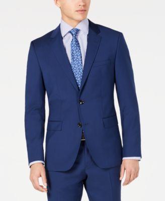 HUGO Hugo Boss Men's Slim-Fit Stepweave Suit Jacket