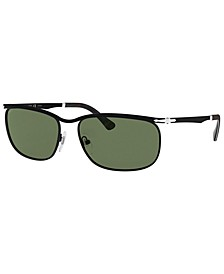 Polarized Sunglasses, PO2458S 62
