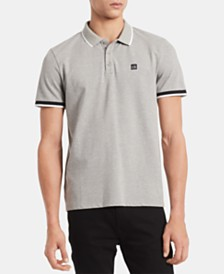 Calvin Klein Men's Tipped Polo Shirt