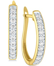 Diamond Hoop Earrings (1/2 ct. t.w.)