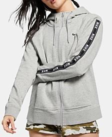 Nike Sportswear Cotton Logo Zip Hoodie