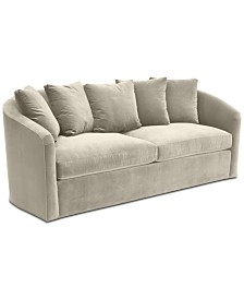 """Hotel Collection Elisabeta 84"""" Fabric Sofa, Created for Macy's"""