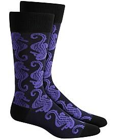 Alfani Men's Seahorse Socks, Created for Macy's