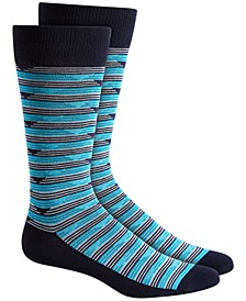 Men's Triangle Stripe Socks, Created for Macy's