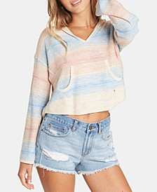 Juniors' Baja Beach Hooded Sweater