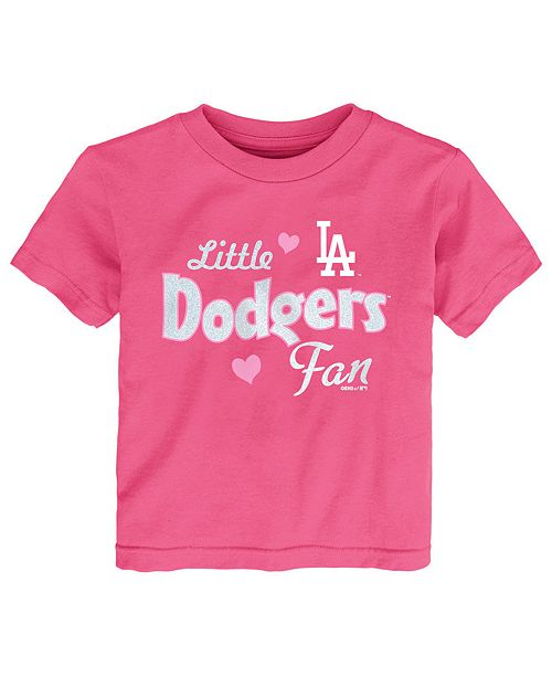 Outerstuff Toddlers Los Angeles Dodgers Girly Fan T-Shirt