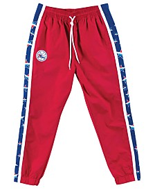 Mitchell & Ness Men's Philadelphia 76ers Tear Away Jogger Pants