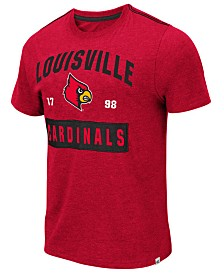 Colosseum Men's Louisville Cardinals Team Patch T-Shirt