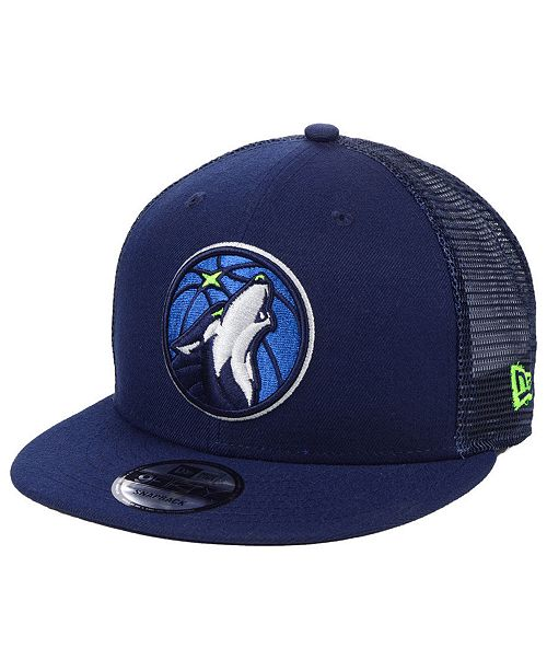 b9248926 Minnesota Timberwolves Nothing But Net 9FIFTY Snapback Cap