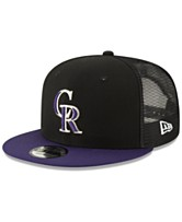 detailed pictures 1b32e 90dc2 New Era Colorado Rockies Coop All Day Mesh Back 9FIFTY Snapback Cap