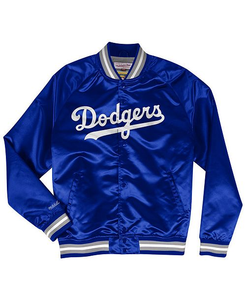 Mitchell & Ness Men's Los Angeles Dodgers Lightweight Satin Jacket