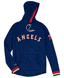 Mitchell & Ness Men's Los Angeles Angels Midweight Appliqué Hoodie