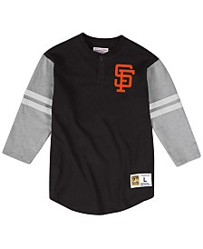 Mitchell & Ness Men's San Francisco Giants Heyday Henley T-Shirt
