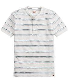 Brooks Brothers Men's Striped Short-Sleeve Henley