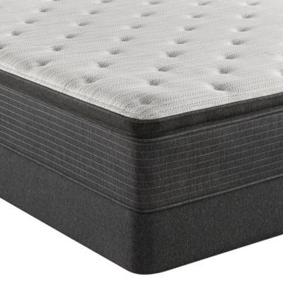 "BRS900-TSS 14.75"" Plush Pillow Top Mattress Set - Twin, Created For Macy's"