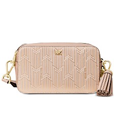 MICHAEL Michael Kors Metallic Deco Small Camera Bag