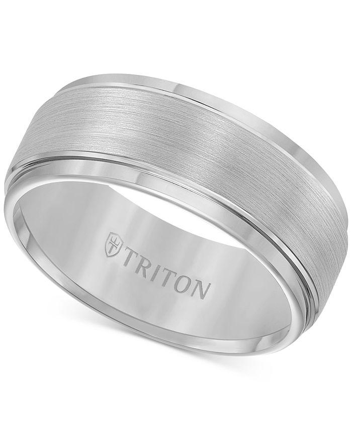 Triton - Tungsten Carbide Ring, 9mm Band