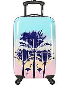 """Wembley Live It Up 20"""" Hardside Carry-On Spinner Suitcase"""