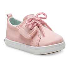 Sperry Baby Girls Crest Vibe Junior Crib Boat Shoe