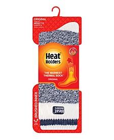 Men's Original Cream Block Twist Thermal Socks