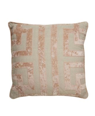 Nikki Chu By Ordella Geometric Poly Throw Pillow 22""