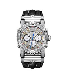 Men's 10 YR Anniversary Phantom Diamond (1 3/4 ct.t.w.) & Chronograph Watch