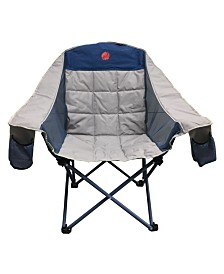 Omnicore Designs Moon phase Home-Away Heavy Duty Oversized Single 300 Pounds Folding Camp Chair