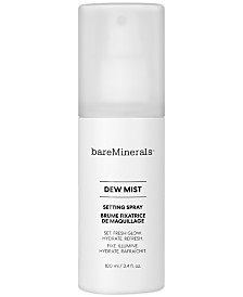 bareMinerals Dew Mist Setting Spray, 3.4-oz.