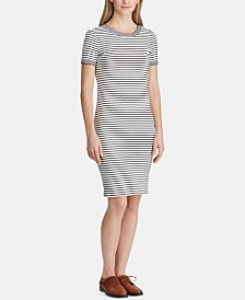 Lauren Ralph Lauren Striped Shirtdress