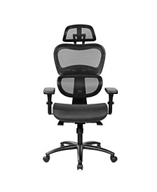 Techni Mobili High Back Mesh Office Executive Chair, Quick Ship