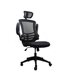 Techni Mobili Modern High-Back Mesh Executive Office Chair