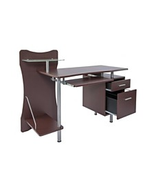Techni Mobili Stylish Computer Desk, Quick Ship