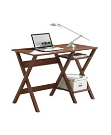 Techni Mobili Writing Desk, Quick Ship