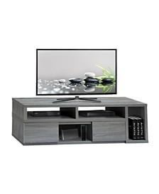 Techni Mobili Adjustable TV Stand Console, Quick Ship