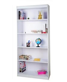 """Techni Mobili 5-Shelf 71"""" Bookcase, Quick Ship"""