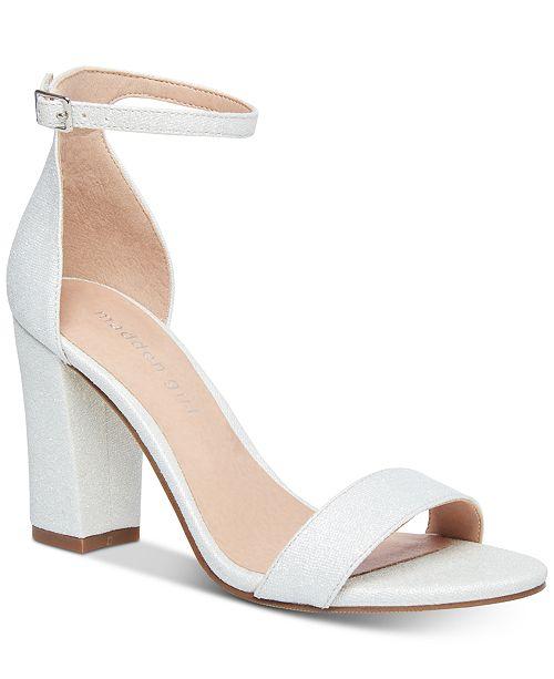 4360b38d4f Madden Girl Bella Two-Piece Block Heel Sandals & Reviews - Sandals ...