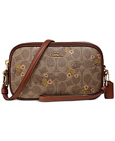 COACH Prairie Signature Sadie Bag