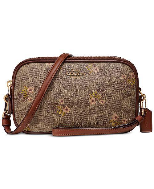 COACH Prairie Signature Sadie Bag