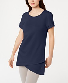 Ideology Dolphin-Hem Tunic, Created for Macy's